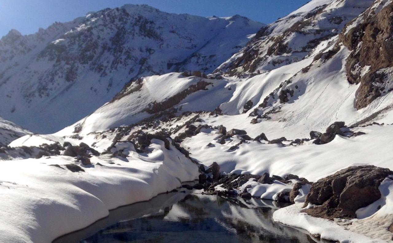 Cajón del Maipo: full day tour to Valle Colina hot springs