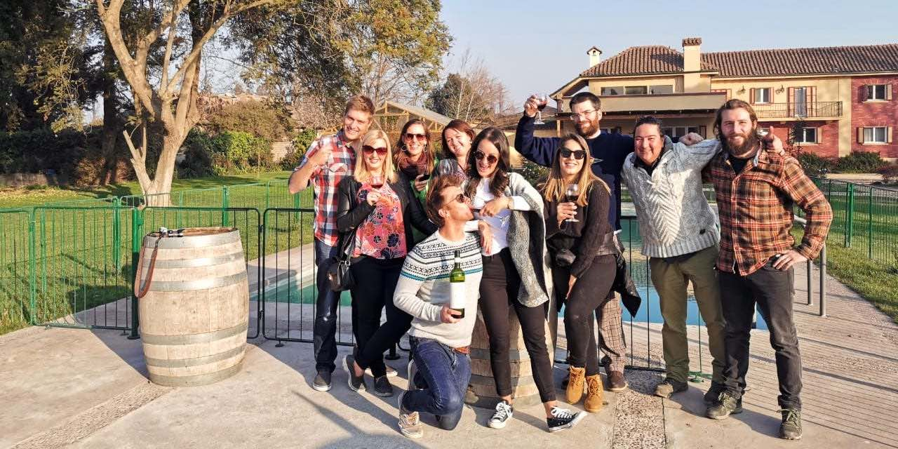 The best experience for wine lovers who want to explore Maipo Valley wineries, learn and have fun